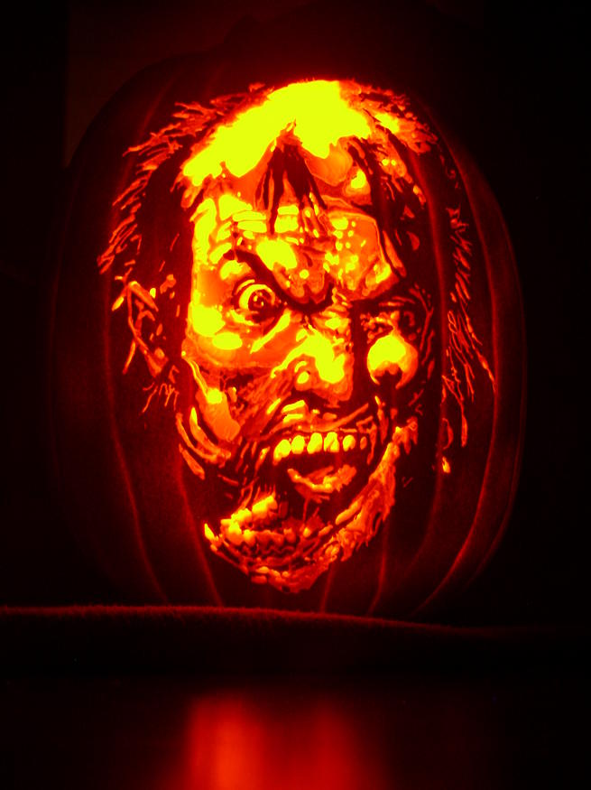 Cool creative and intricate pumpkin carvings by mark ratliff