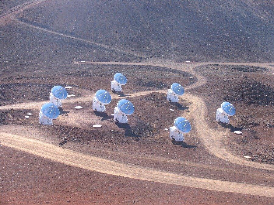 Submillimeter Array; Mauna Kea