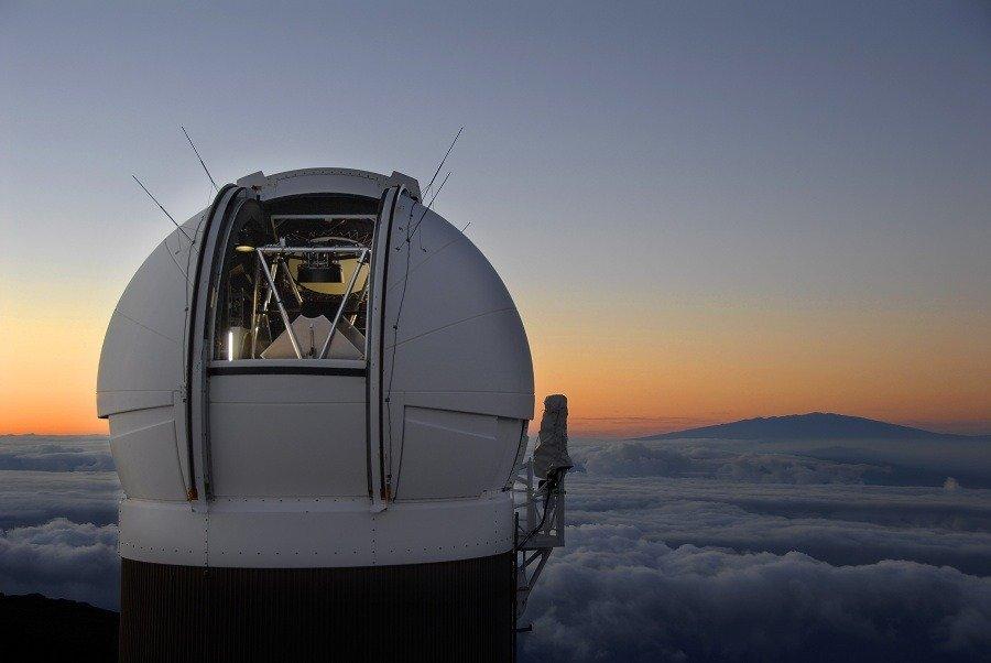 University of Hawaii 2.2 meter Telescope; Mauna Kea