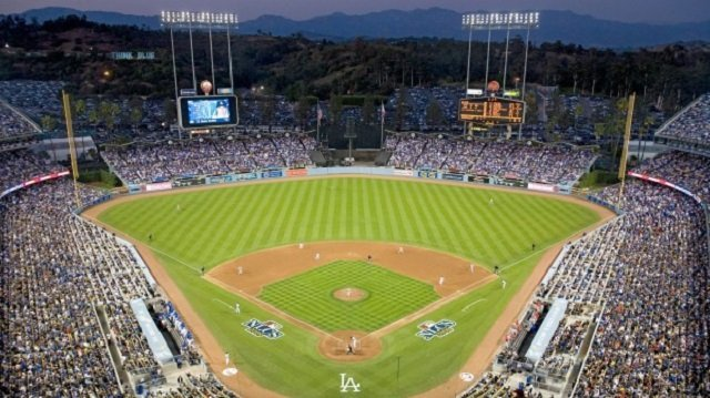 Dodger Stadium, Los Angeles, California, USA