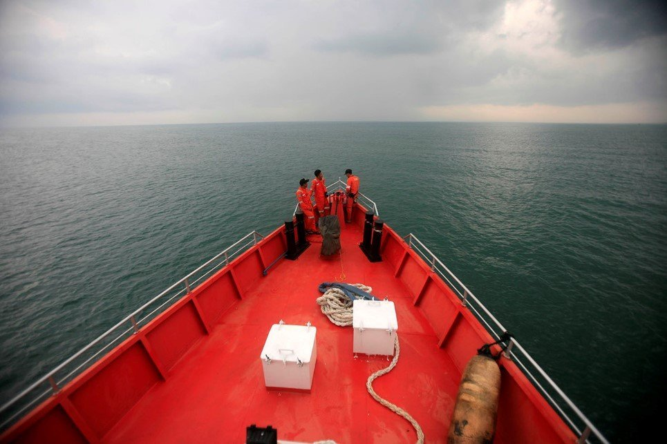 The search for a missing Malaysia Airlines passenger jet