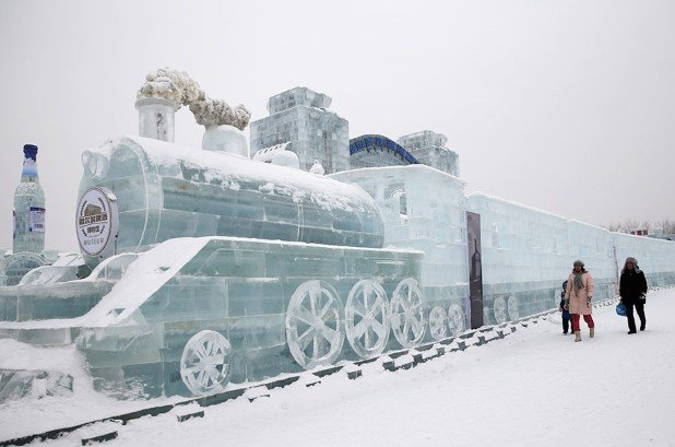 Harbin International Ice and Snow Festival 2015 1