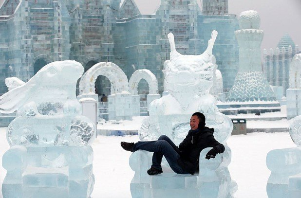 Harbin International Ice and Snow Festival 2015 12