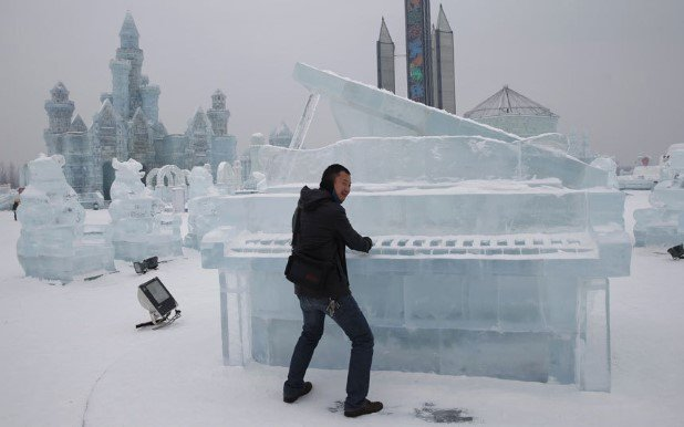 Harbin International Ice and Snow Festival 2015 2