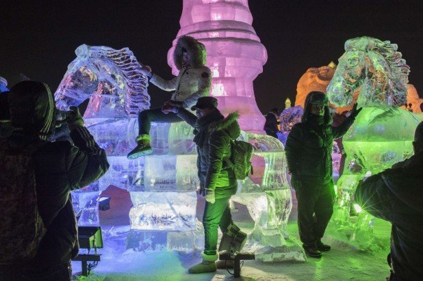 Harbin International Ice and Snow Festival 2015 24