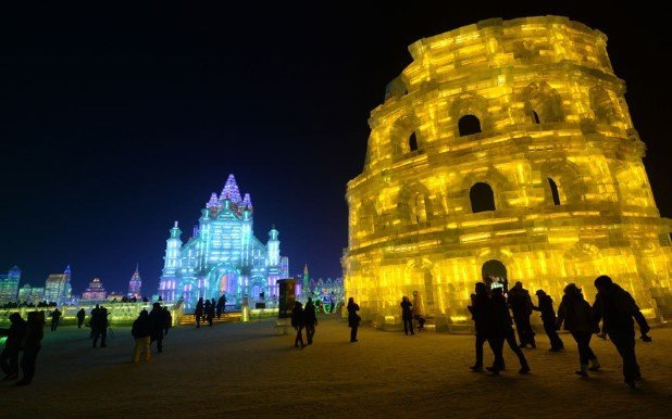 Harbin International Ice and Snow Festival 2015 5