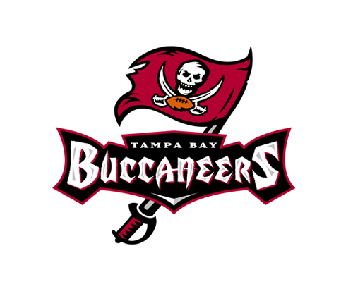 Old Logo: Tampa Bay Buccaneers