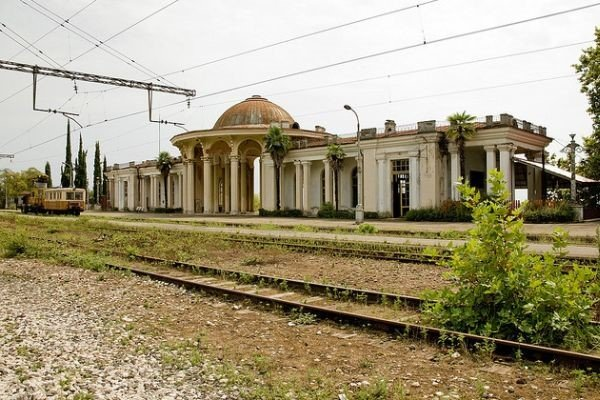 Train Station, Abkhazia, Georgia