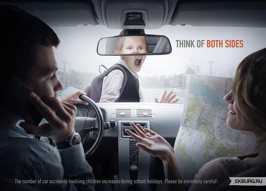 Distracted Driving: Think Of Both Sides