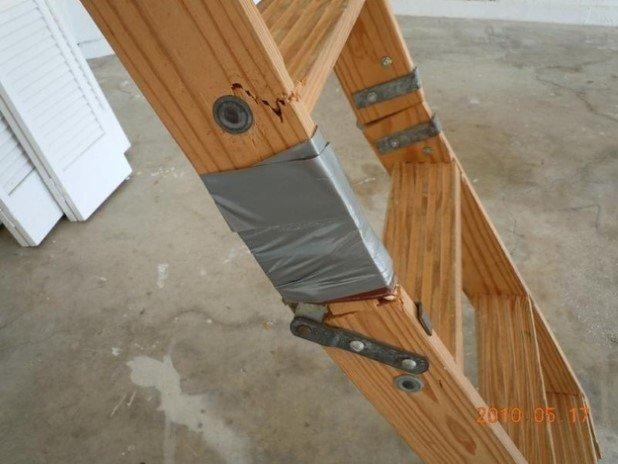 13. Fix ladders