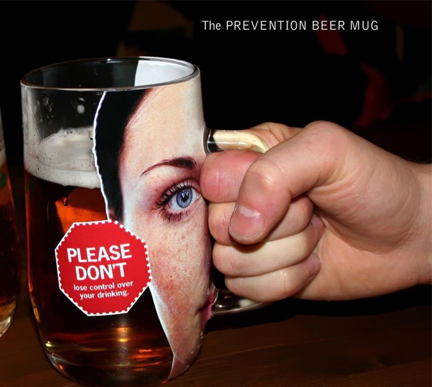 The Prevention Beer Mug: Please Don't Lose Control over Your Drinking