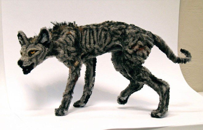 Animal Sculptures Made Entirely Out of Pipe Cleaners (10)