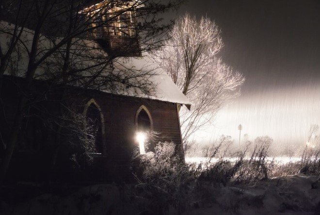 Church In The Snow (3)