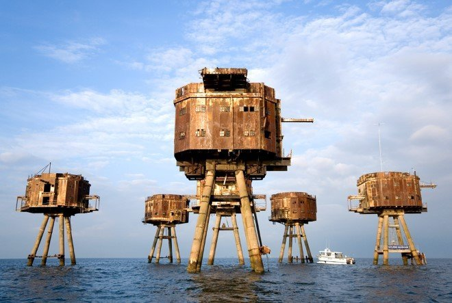 Maunsell Sea Forts, England (1)