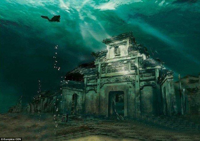 Underwater City, China (1)