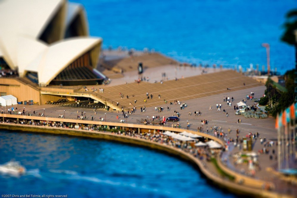 My Miniature City of Sydney by Chris Tolmie