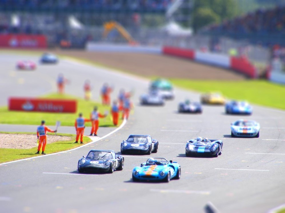 Tilt-Shift Grid by Mike Edwards
