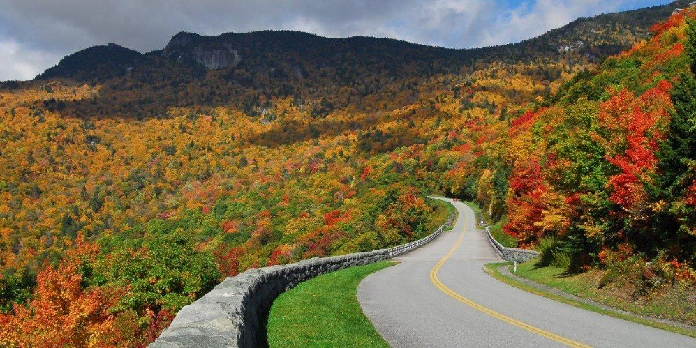 Blue Ridge Parkway, USA (1)
