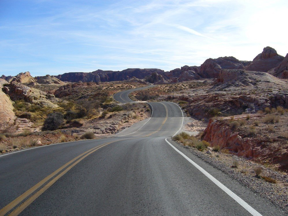 Valley of Fire Road, USA (1)