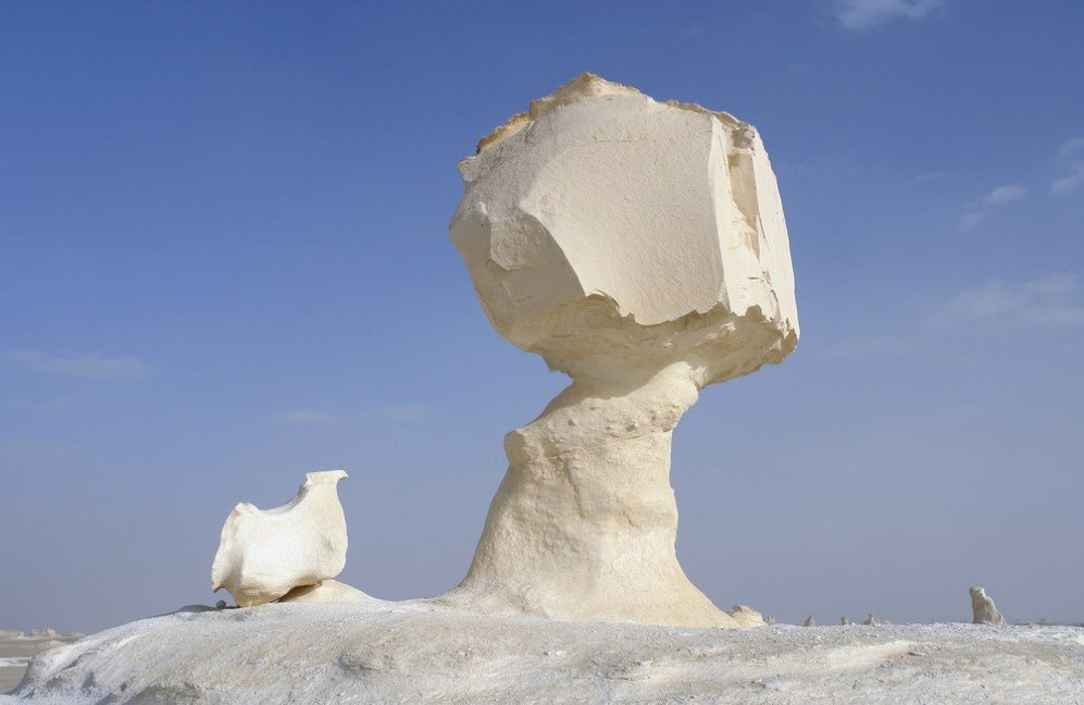 White Desert in Farafra