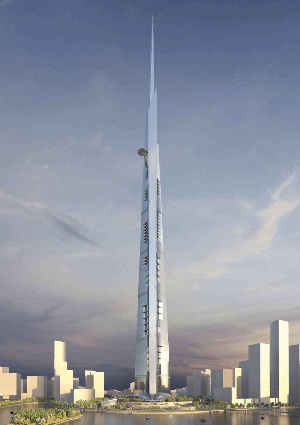 1. Kingdom Tower, Jeddah, Saudi Arabia