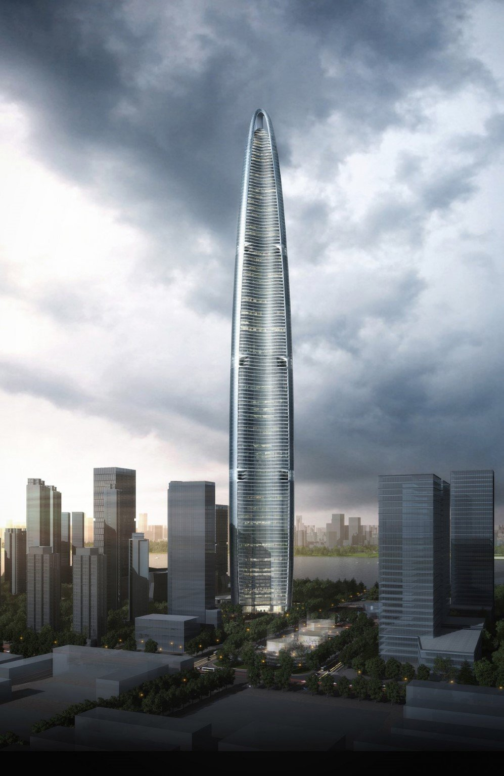4. Wuhan Greenland Centre, Wuhan, China