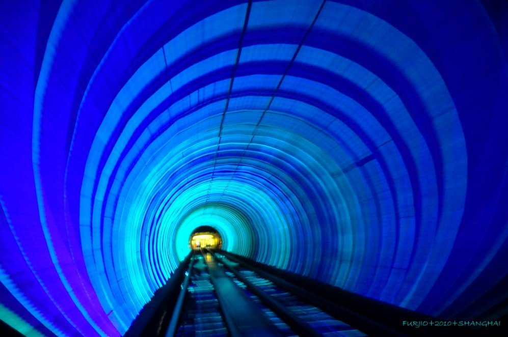 Bund Sightseeing tunnel