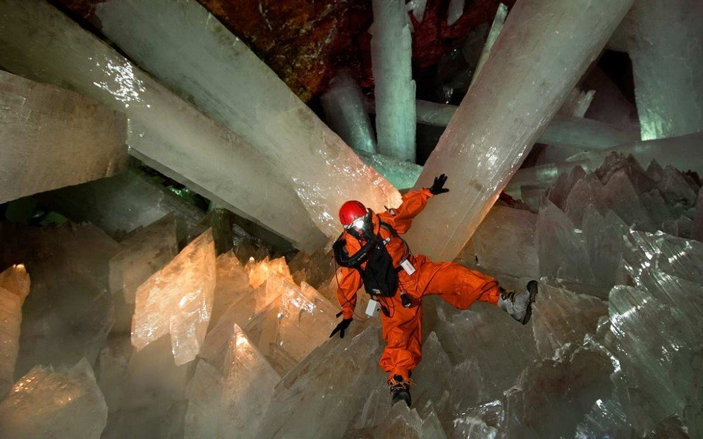 Cave Of Crystals, Mexico (1)