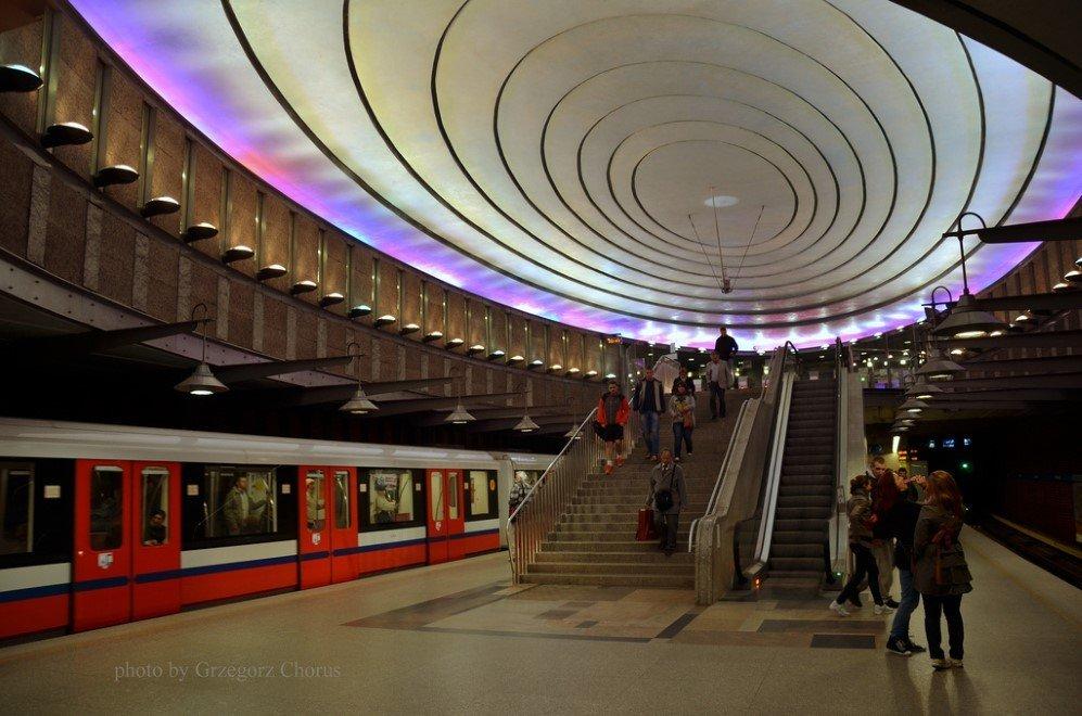 Plac Wilsona Station, Warsaw, Poland