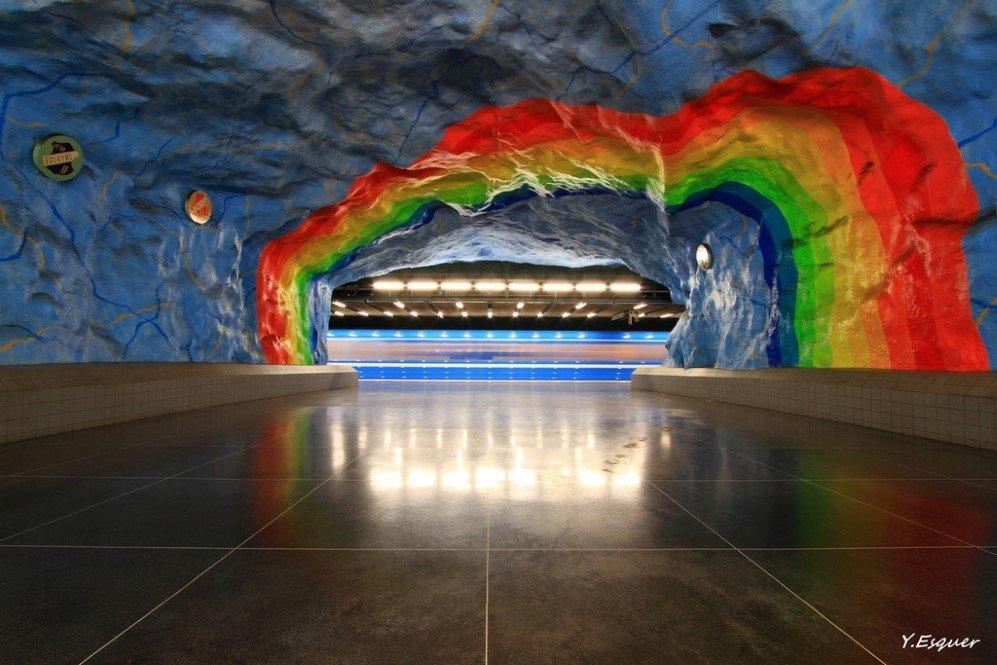 Stadion Station, Stockholm, Sweden