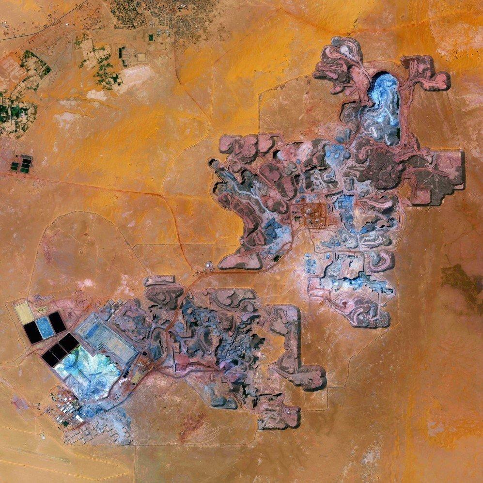 Arlit Uranium Mine
