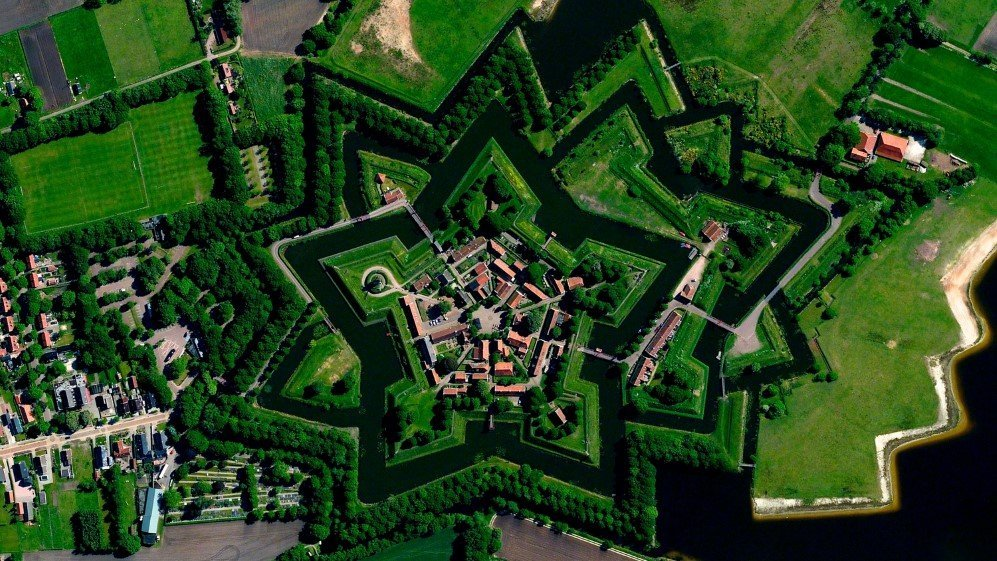 Bourtange star fort