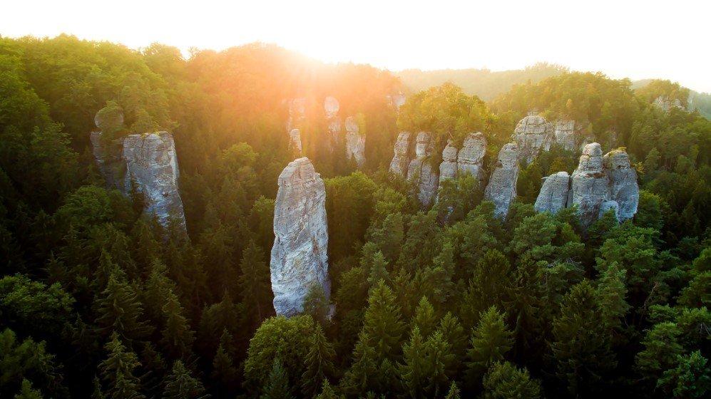 Hruboskalsko, Czech Republic