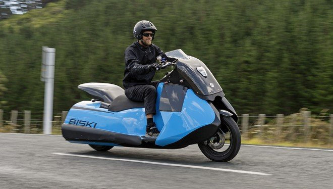 Biski Is An Amphibious Motorcycle That You Can Also Ride On Water