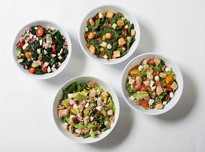 Sally' The Salad Robot Makes 1000 Different Salad Combinations In 60 on
