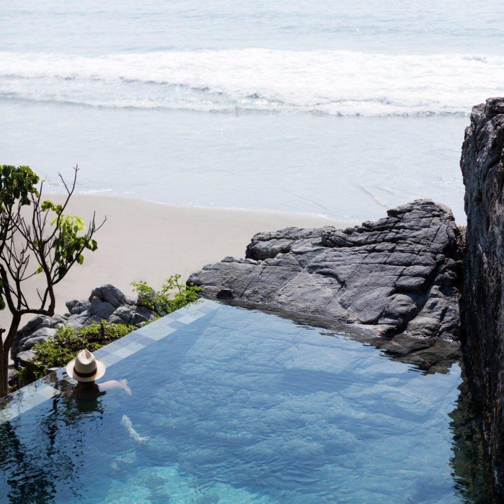 Sja Iii Cabana With Hillside Pool By Cdm Architects Looks