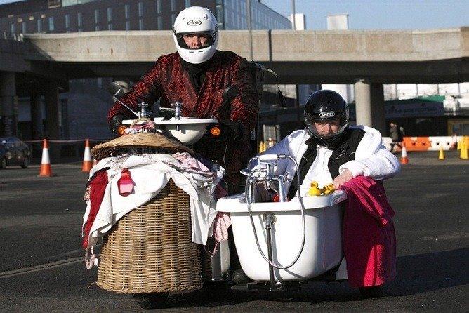 Fastest Bathroom; Ten Wacky Vehicles