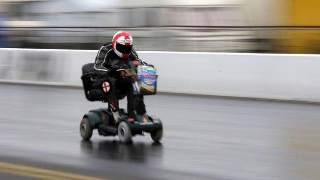 Fastest Scooter; Ten Wacky Vehicles