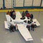 First flying car