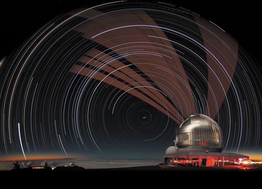 Gemini Telescope; MaunaKea