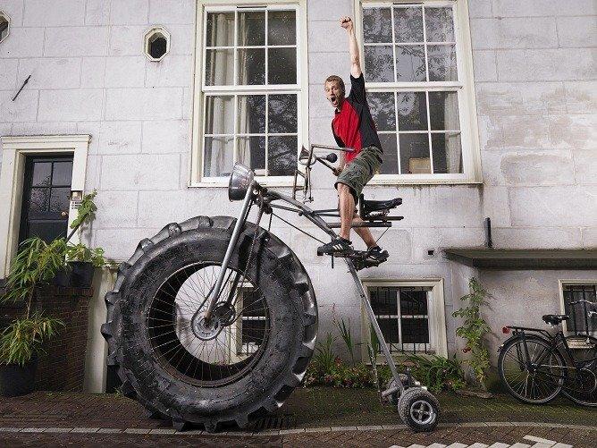 Heaviest Ride-able Pedal Bike