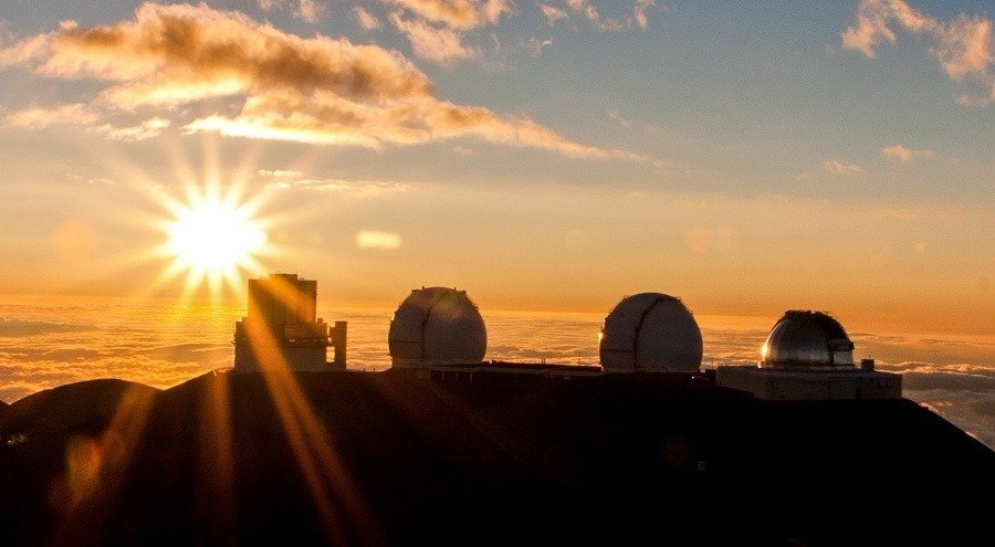 Mauna Kea Observatories (Source: islands.com)