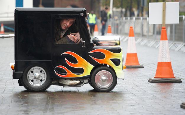 Smallest Van; Ten Wacky Vehicles