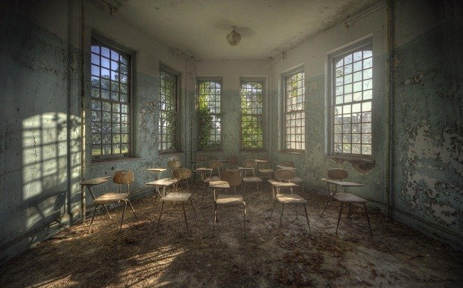 Beauty in Abandoned Buildings