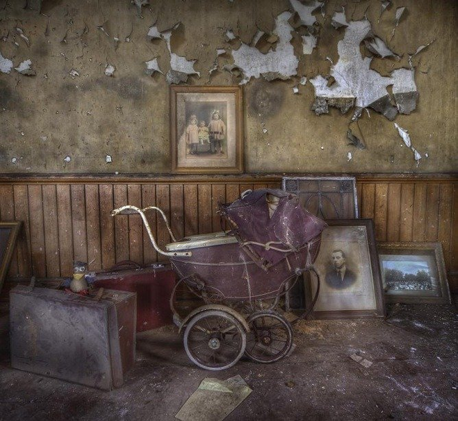 Beauty in Abandoned Buildings