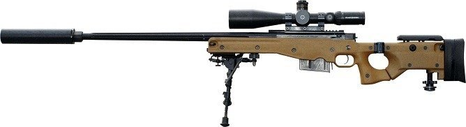 Most advanced sniper rifle