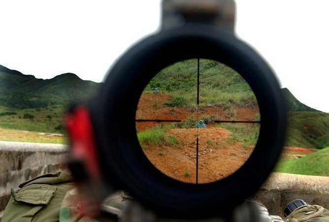 Most advanced sniper rifle