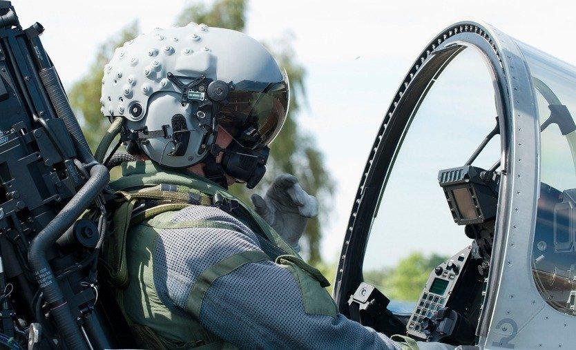 Typhoon Gets Most Advanced Pilot Helmet