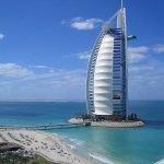 Burj Al Arab hotel in Dubai, UAE