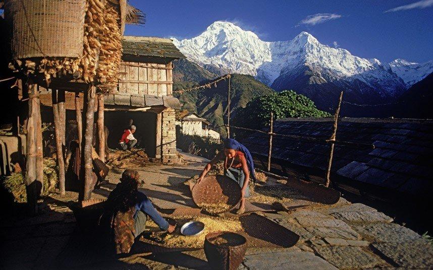 1. Annapurna Top Ten Killer Mountains of the World